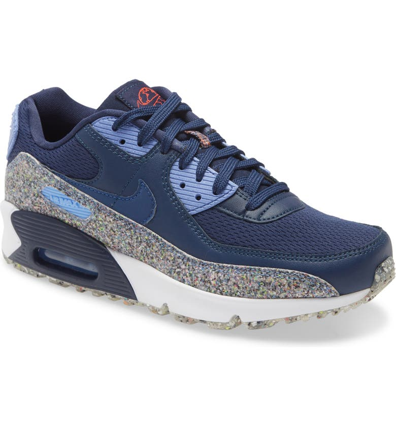 NIKE Air Max 90 MTF Sneaker, Main, color, NAVY/ ROYAL