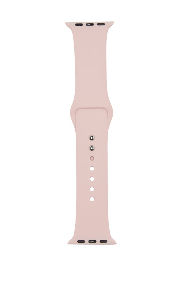 SARINA Women's Interchangeable Silicone Watch Strap, Main, color, LIGHT/PASTEL PINK