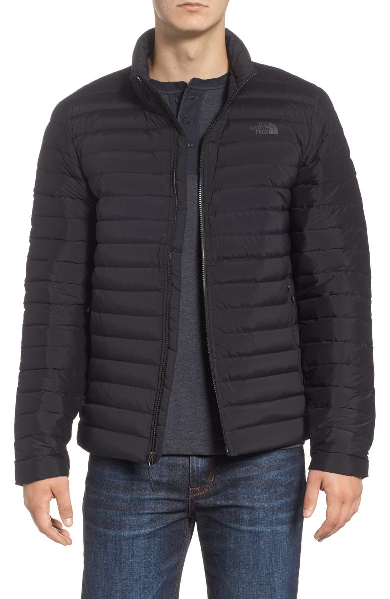 THE NORTH FACE Packable Stretch Down Jacket, Main, color, 001