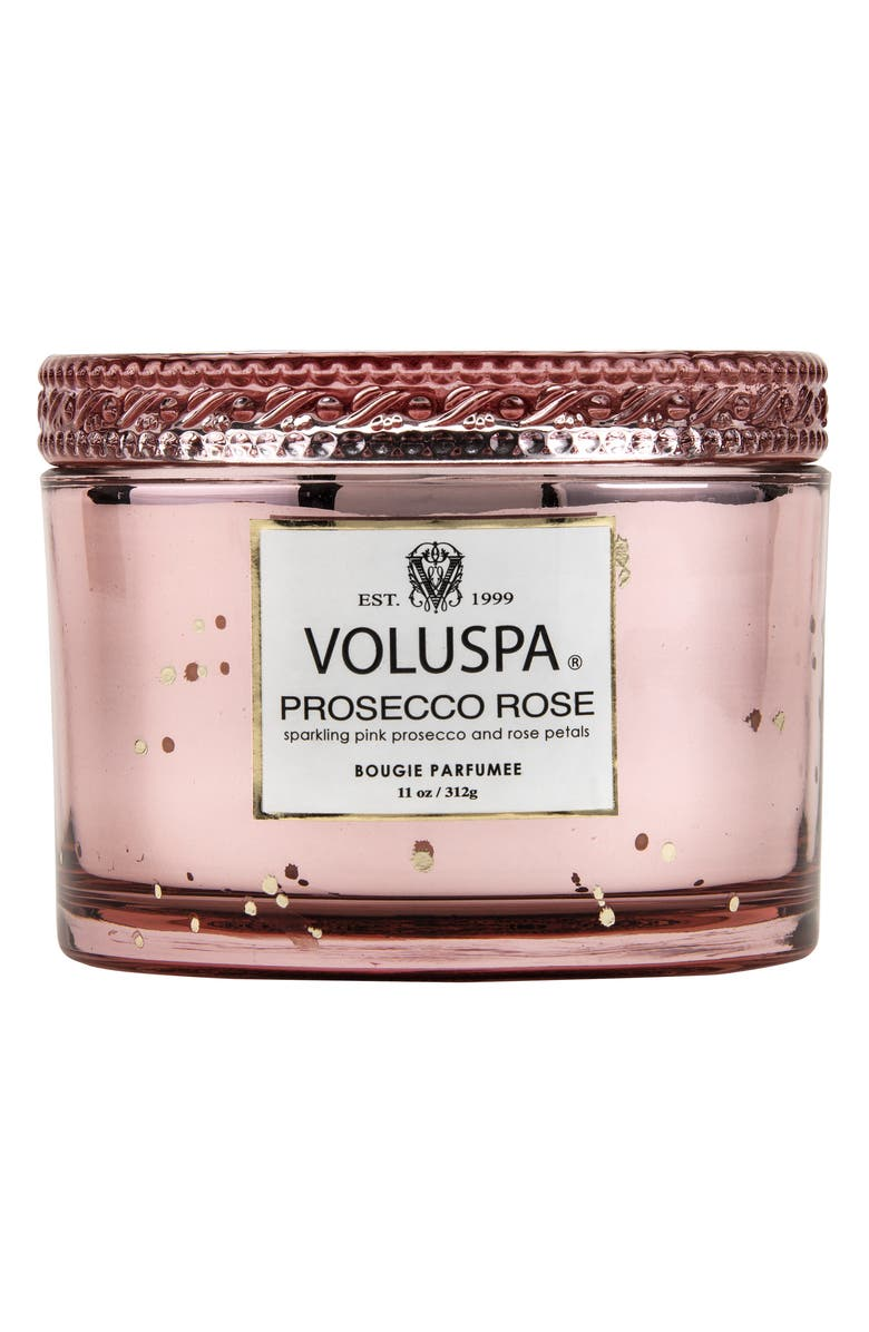 VOLUSPA Vermeil Prosecco Rose Corta Maison Candle, Main, color, 000
