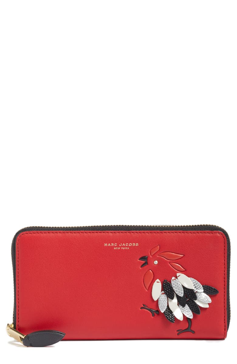 MARC JACOBS Rooster Continental Wallet, Main, color, 647