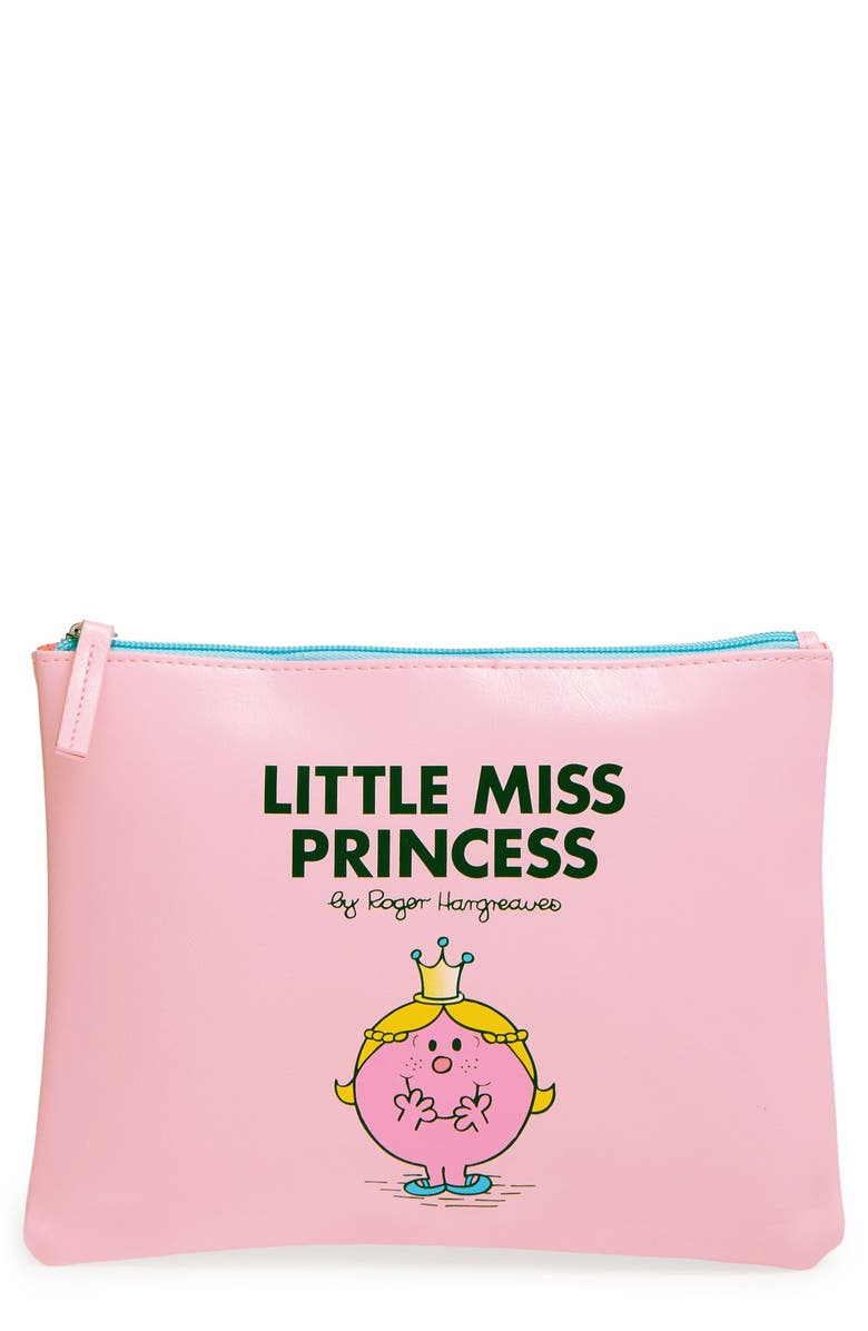 WILD & WOLF Wild and Wolf 'Little Miss Princess' Pouch, Main, color, 650