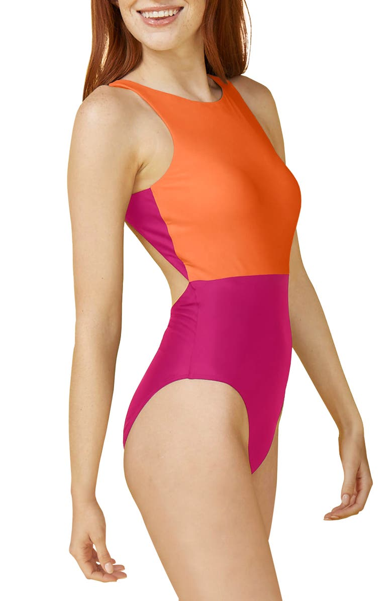 SUMMERSALT The Cove One-Piece Swimsuit, Main, color, 500
