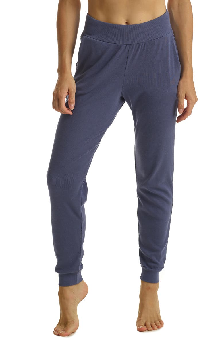 COMMANDO Ribbed Joggers, Main, color, NIGHT SHADOW
