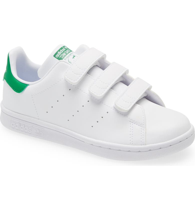 ADIDAS Primegreen Stan Smith Sneaker, Main, color, FOOTWEAR WHITE/ GREEN