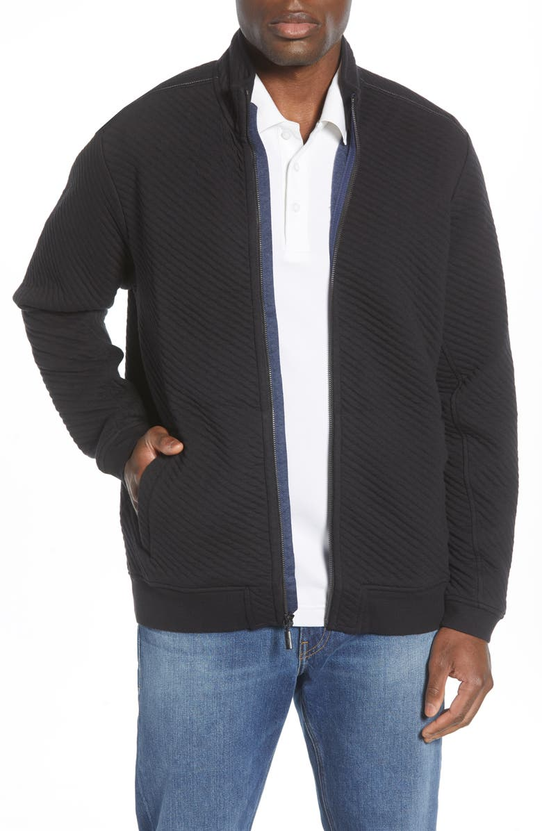 TOMMY BAHAMA Quilt to Last Jacket, Main, color, 001