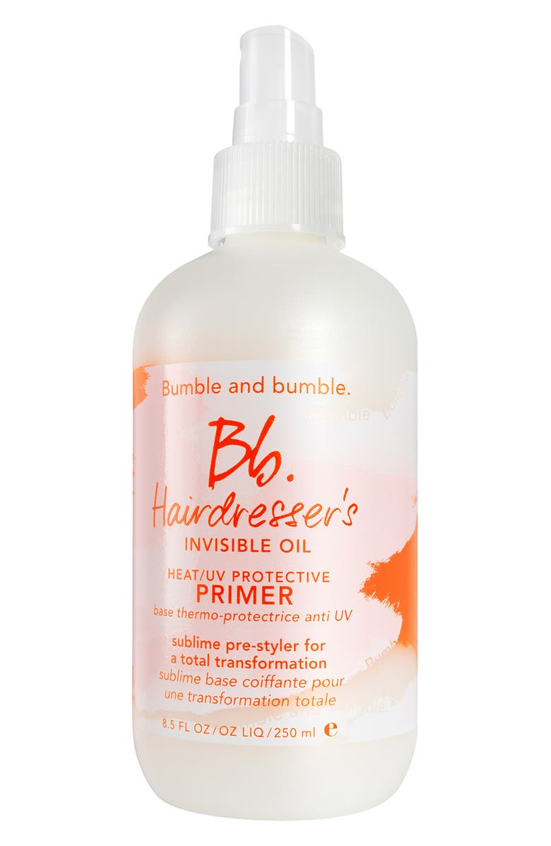 BUMBLE AND BUMBLE. Hairdresser's Invisible Oil Heat/UV Protective Primer, Main, color, No Color