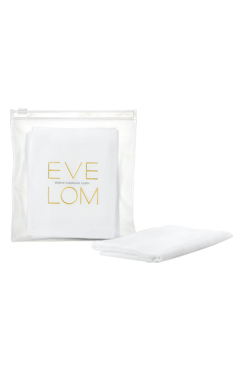 EVE LOM Muslin Cleansing Cloths, Main, color, NO COLOR