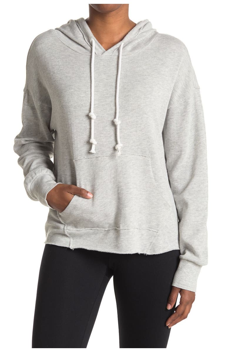 Z BY ZELLA All Together Hoodie, Main, color, GREY LIGHT HEATHER