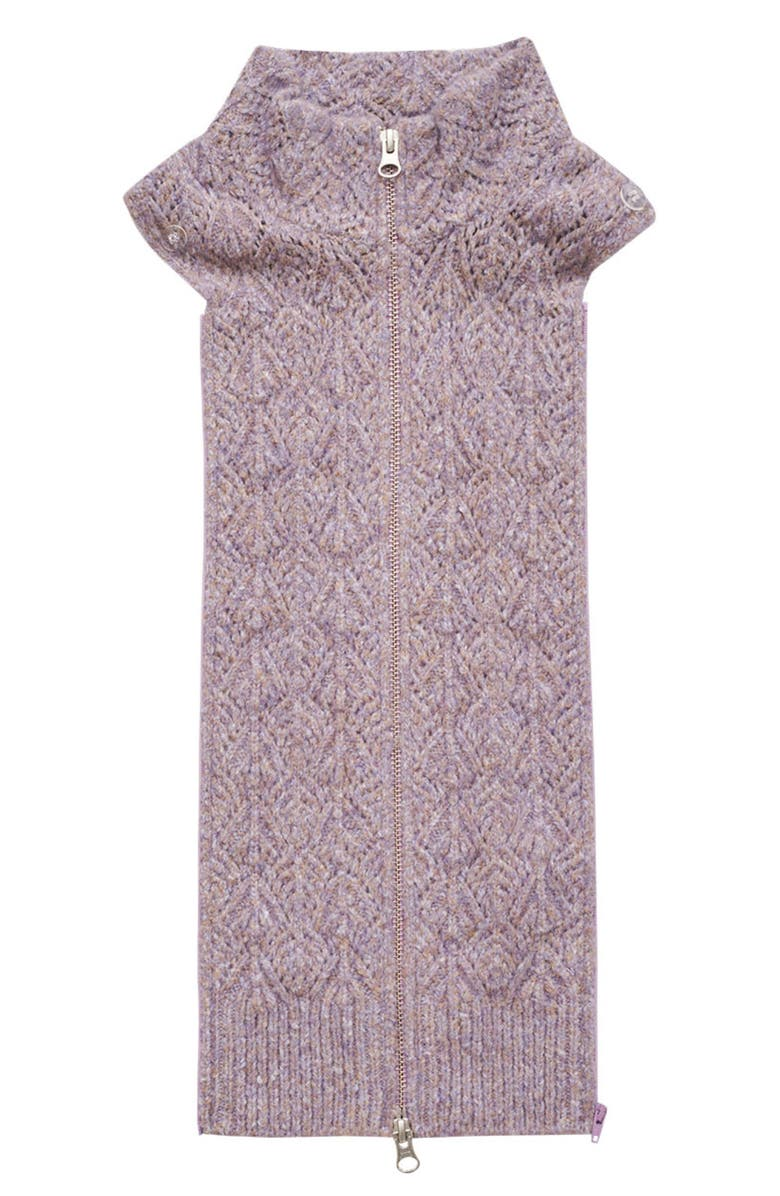 VERONICA BEARD Junlee Knit Dickey, Main, color, LILAC
