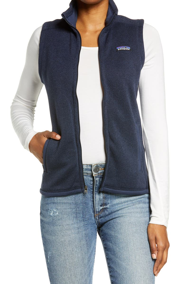 PATAGONIA Better Sweater<sup>®</sup> Zip Vest, Main, color, NENA NEW NAVY
