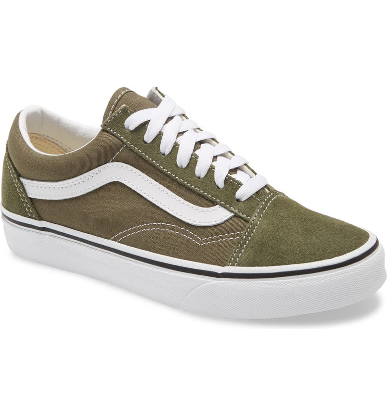 VANS Old Skool Sneaker, Main, color, GRAPE LEAF/ TRUE WHITE