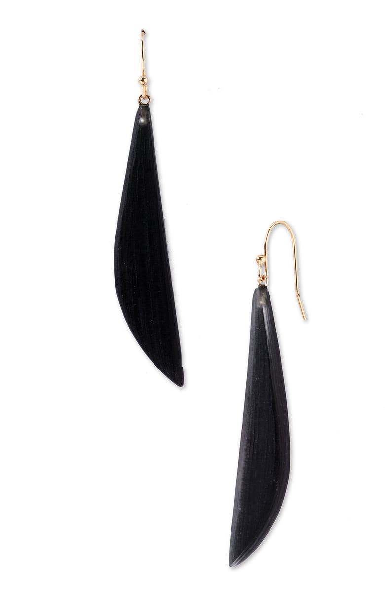 ALEXIS BITTAR Lucite<sup>®</sup> Sword Earrings, Main, color, 001