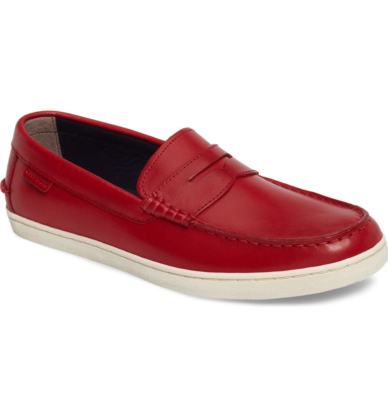 COLE HAAN Canvas Penny Loafer, Main, color, 605