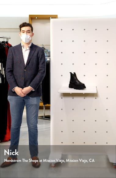 Calf Leather Low Chelsea Boot, sales video thumbnail