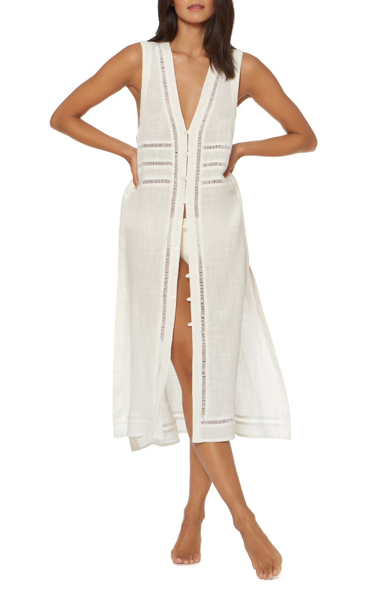 DOLCE VITA Cover-Up Maxi Dress, Main, color, 100