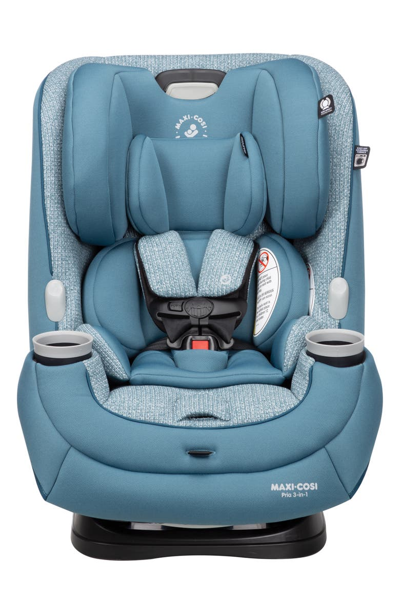 MAXI-COSI<SUP>®</SUP> Pria<sup>™</sup> Sweater Collection 3-in-1 Convertible Car Seat, Main, color, DEEP TEAL SWEATER