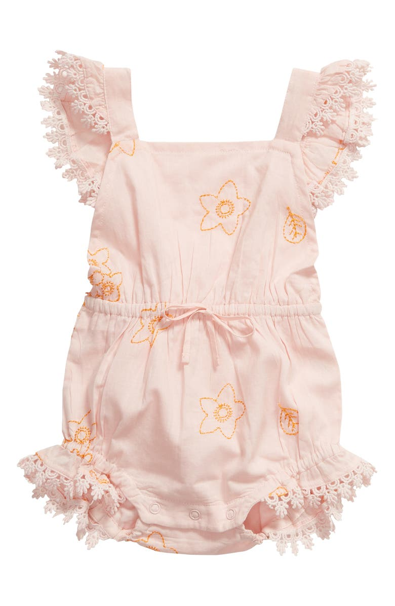 LALI Poppy Flutter Bubble Romper, Main, color, 650
