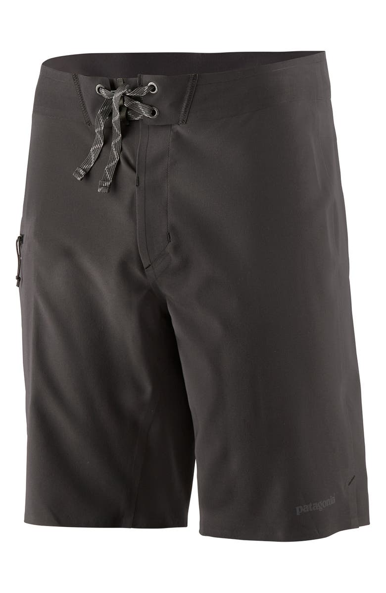 PATAGONIA Stretch Hydroflow Board Shorts, Main, color, 001