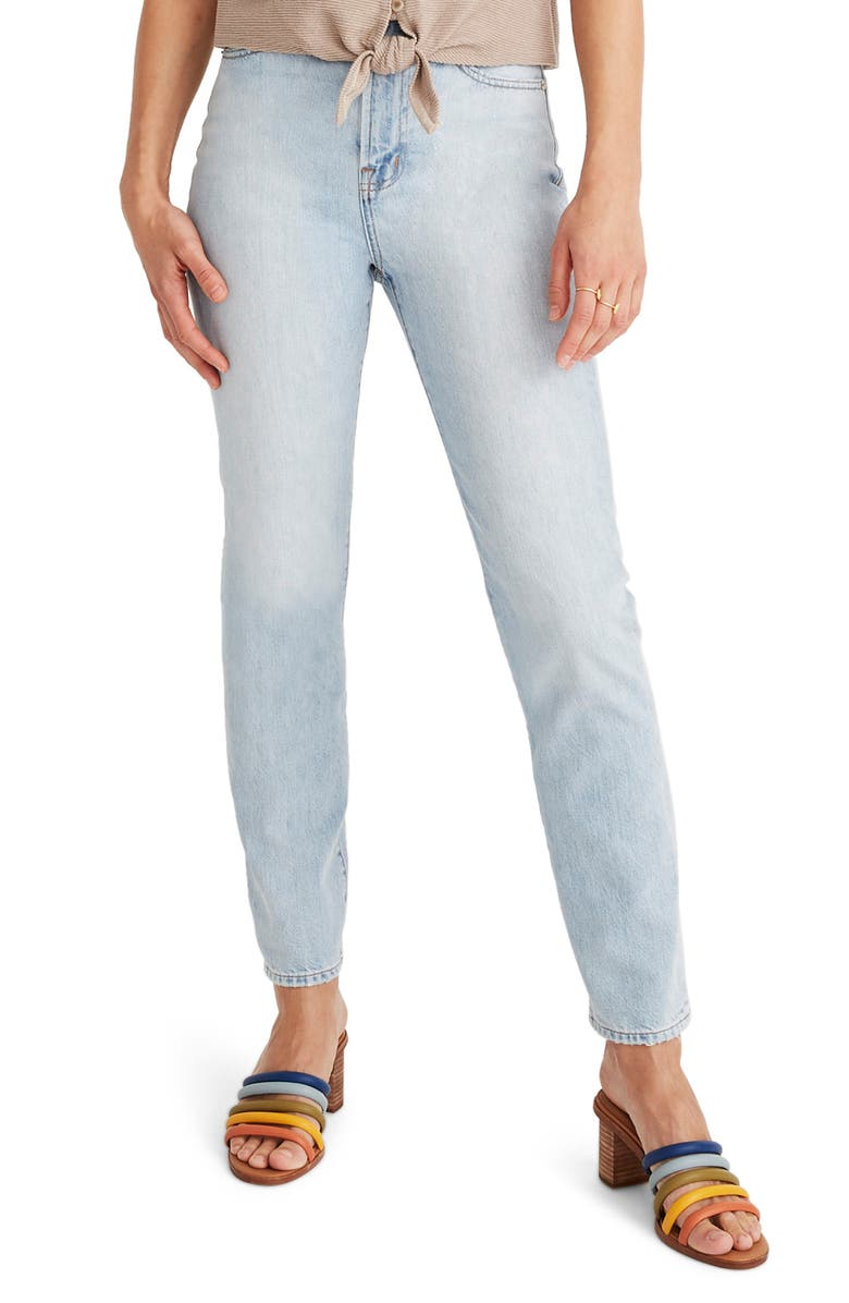 MADEWELL The Curvy Perfect Vintage High Waist Jeans, Main, color, FITZGERALD WASH