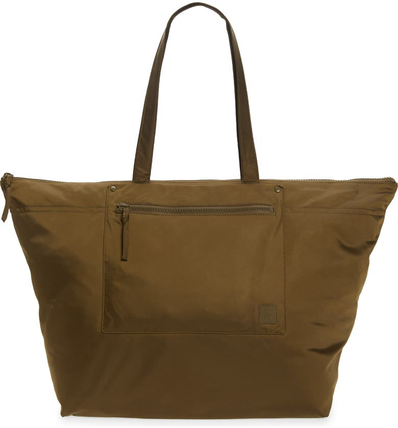 MADEWELL The (Re)sourced Weekend Bag, Main, color, GOLDEN SPINACH