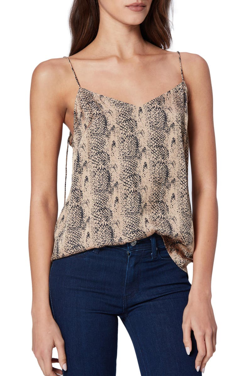 PAIGE Cicely Camisole, Main, color, TOBACCO SONORIAN SNAKE