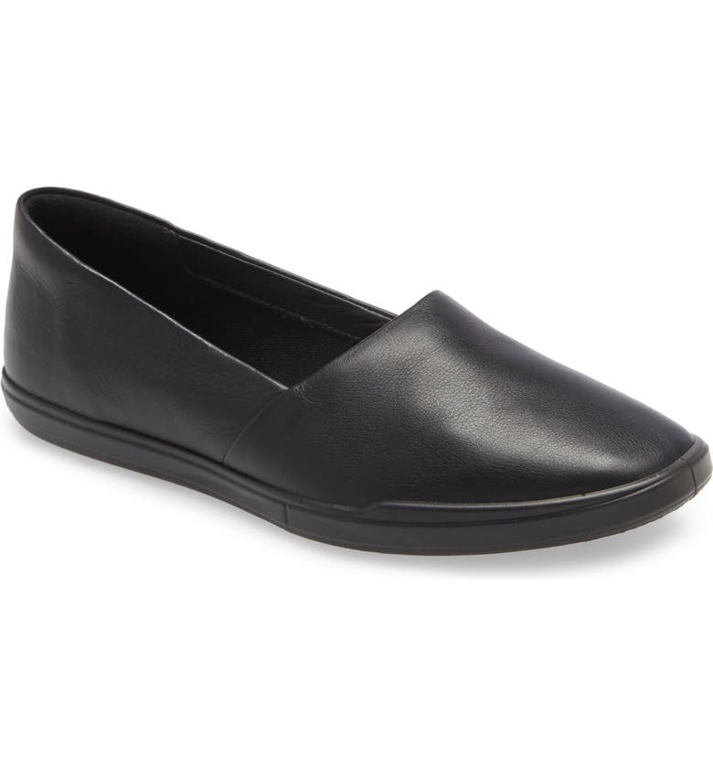 ECCO Simpil Loafer, Main, color, BLACK LEATHER