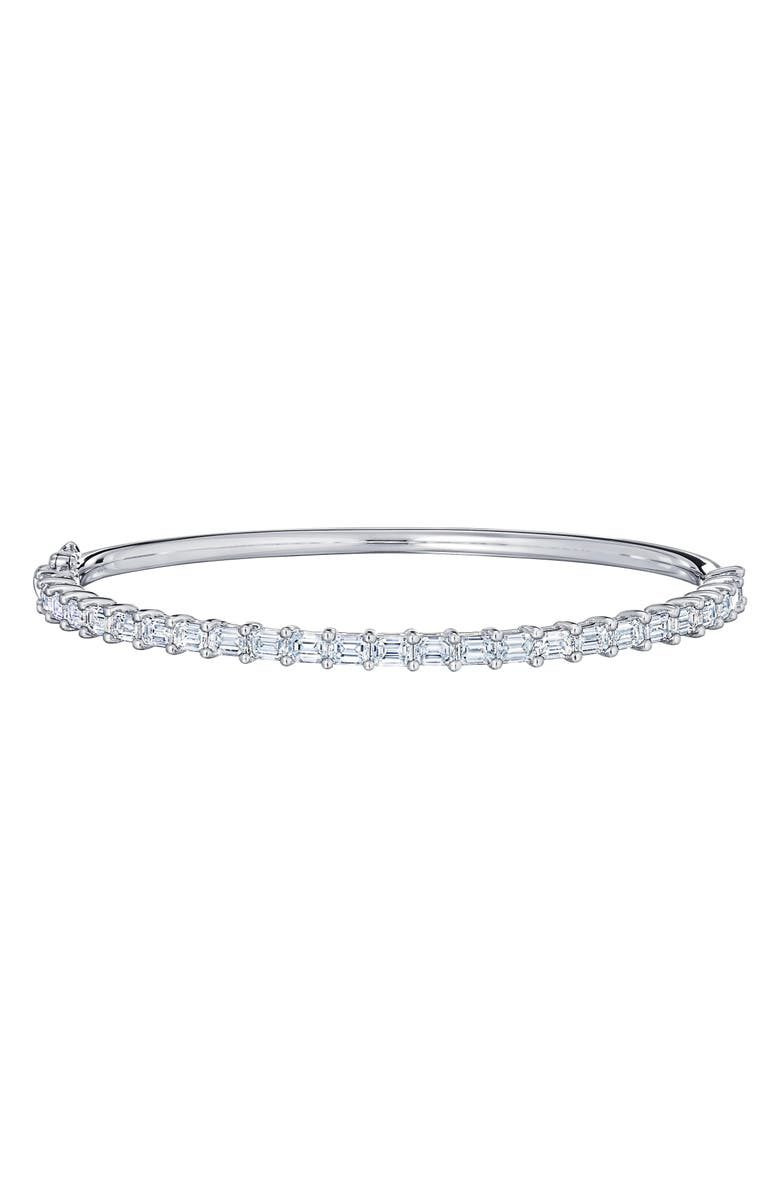 KWIAT Eclipse Emerald Cut Diamond Bangle, Main, color, 711