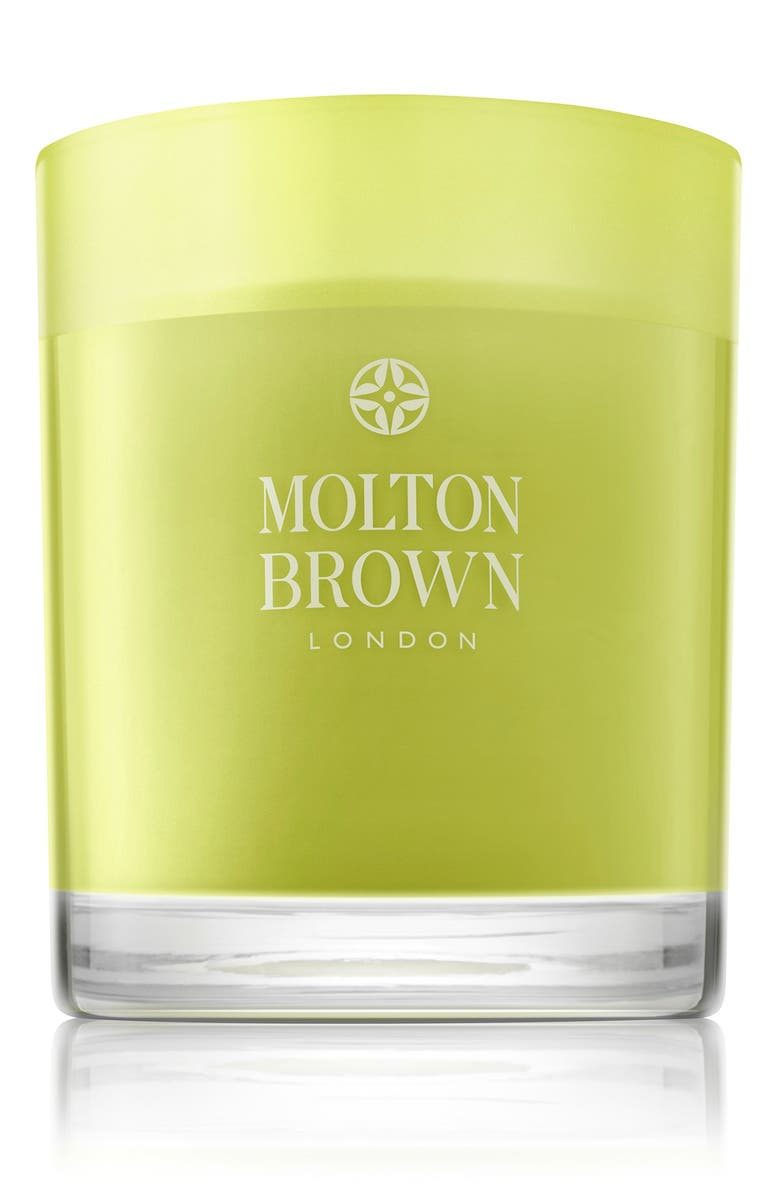 MOLTON BROWN Lily Of The Valley & Violet Leaf Single Wick Candle, Main, color, NO COLOR