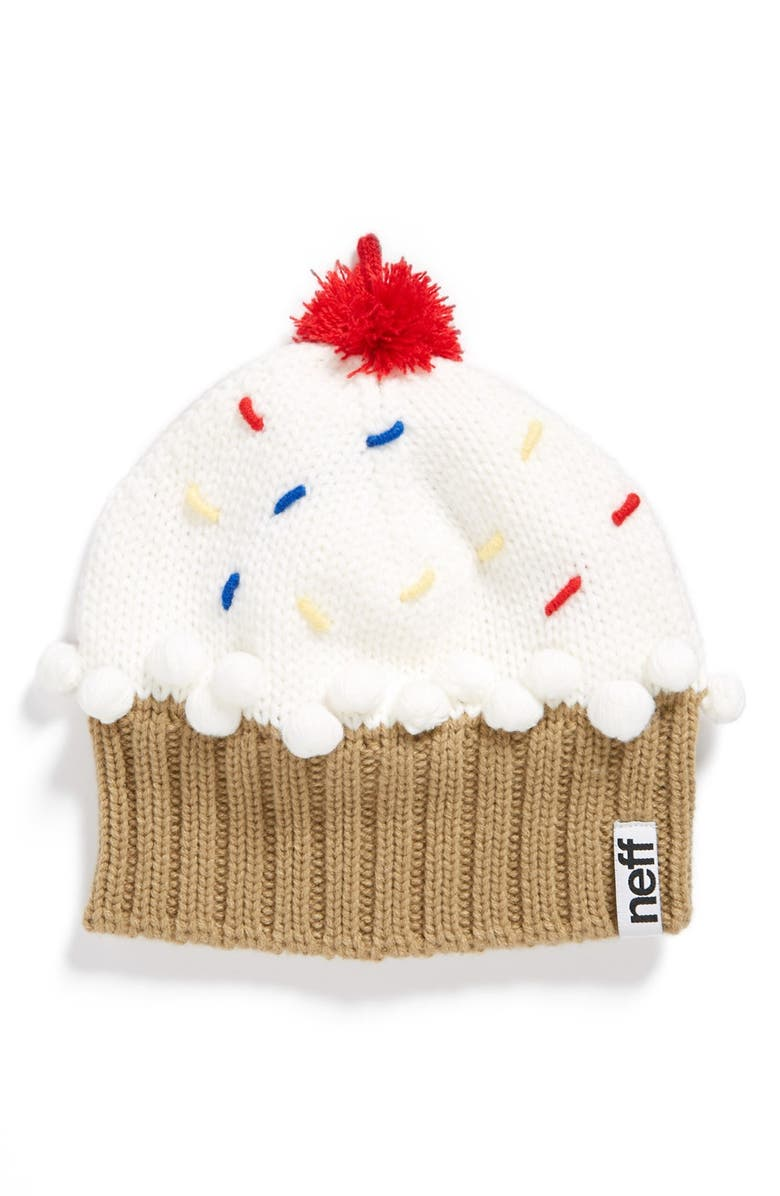 NEFF 'Cupcake' Beanie, Main, color, 111