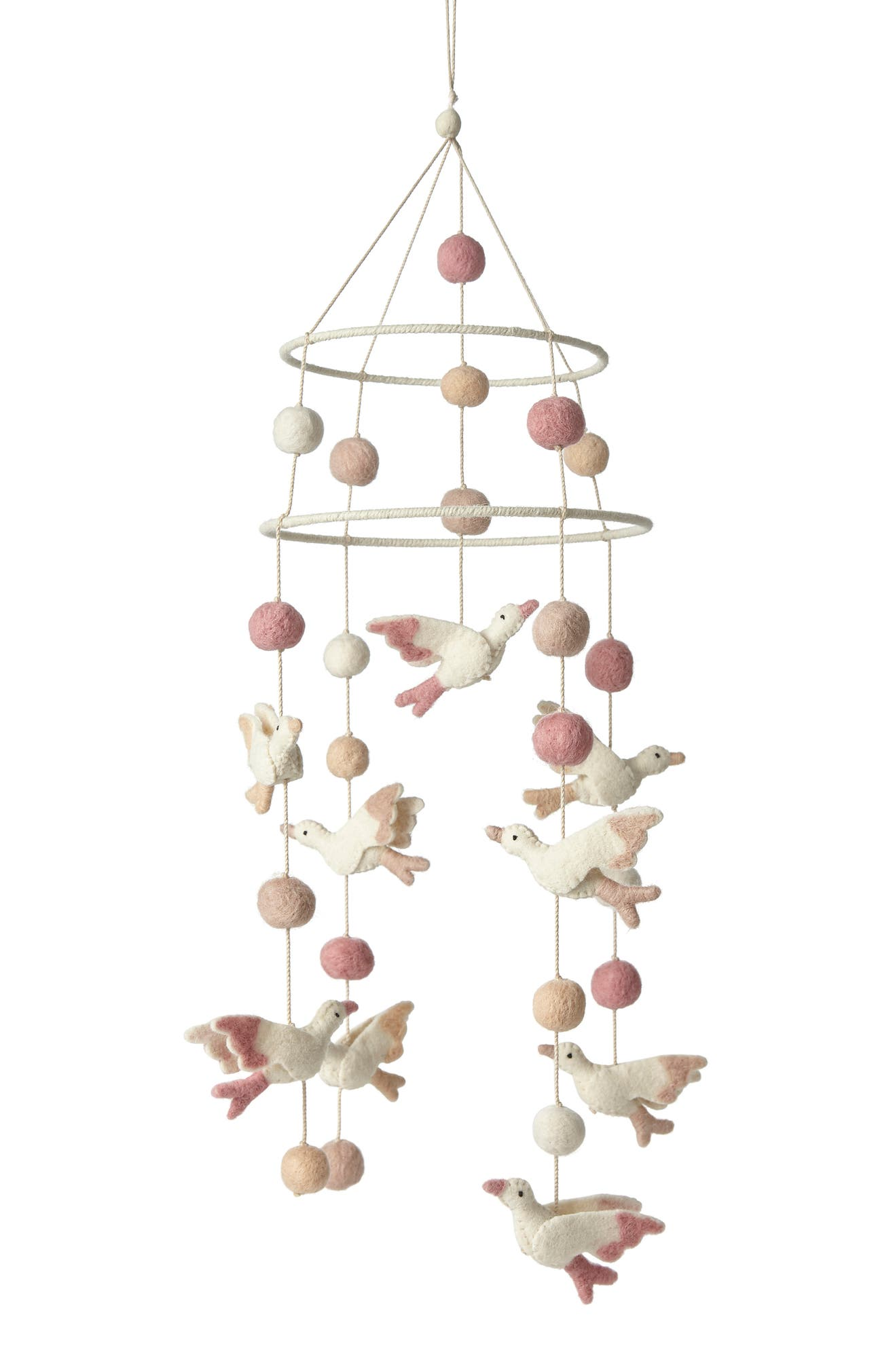 PEHR Birds of a Feather Mobile, Main, color, MULTI