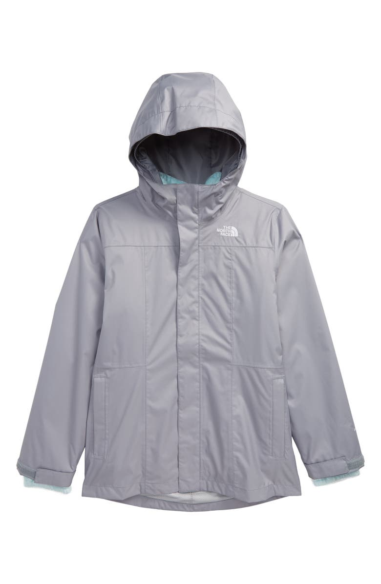 THE NORTH FACE Osolita 2.0 TriClimate<sup>®</sup> Waterproof 3-in-1 Jacket, Main, color, MID GREY/ ORIGIN BLUE