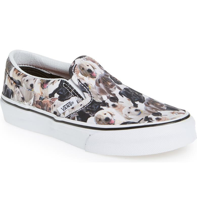 VANS 'Classic - ASPCA' Slip-On, Main, color, 100