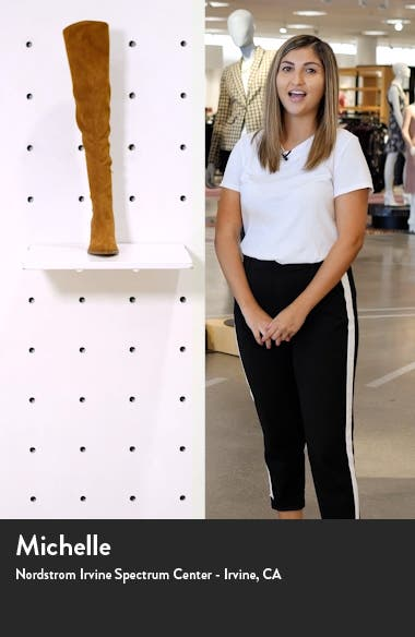 . Cathi Pointed Toe Over the Knee Boot, sales video thumbnail