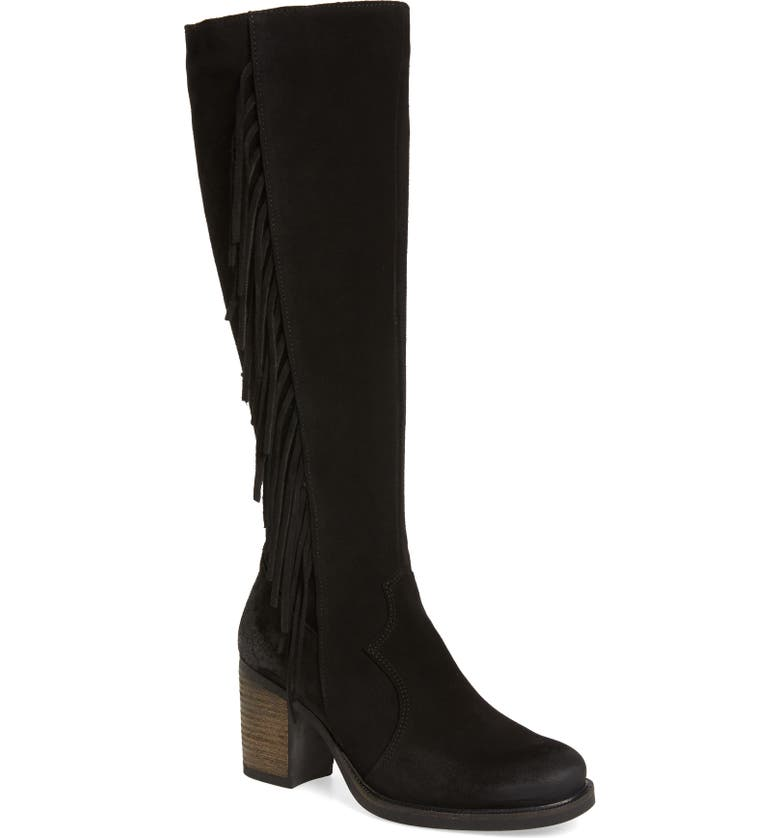 BOS. & CO. Houston Waterproof Knee High Boot, Main, color, 001