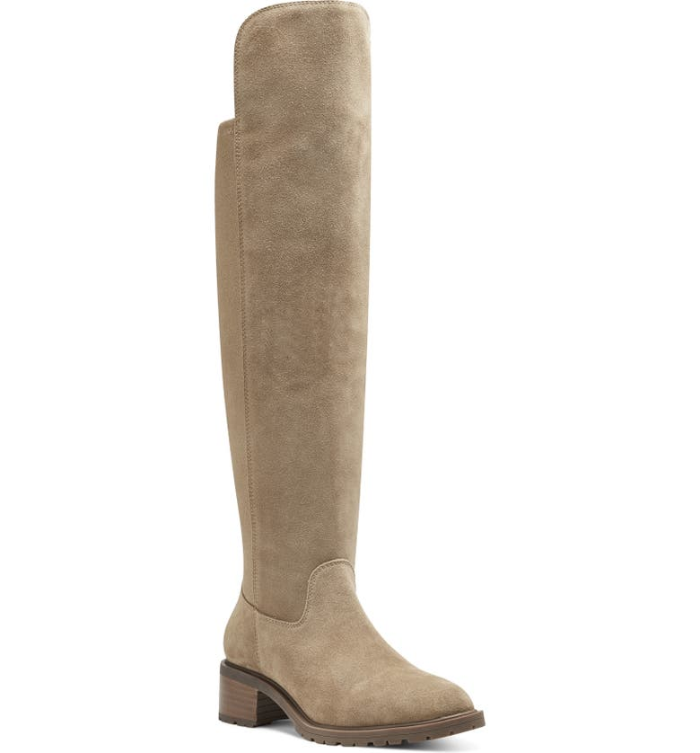 SOLE SOCIETY Favian Knee High Boot, Main, color, HONEY LEATHER