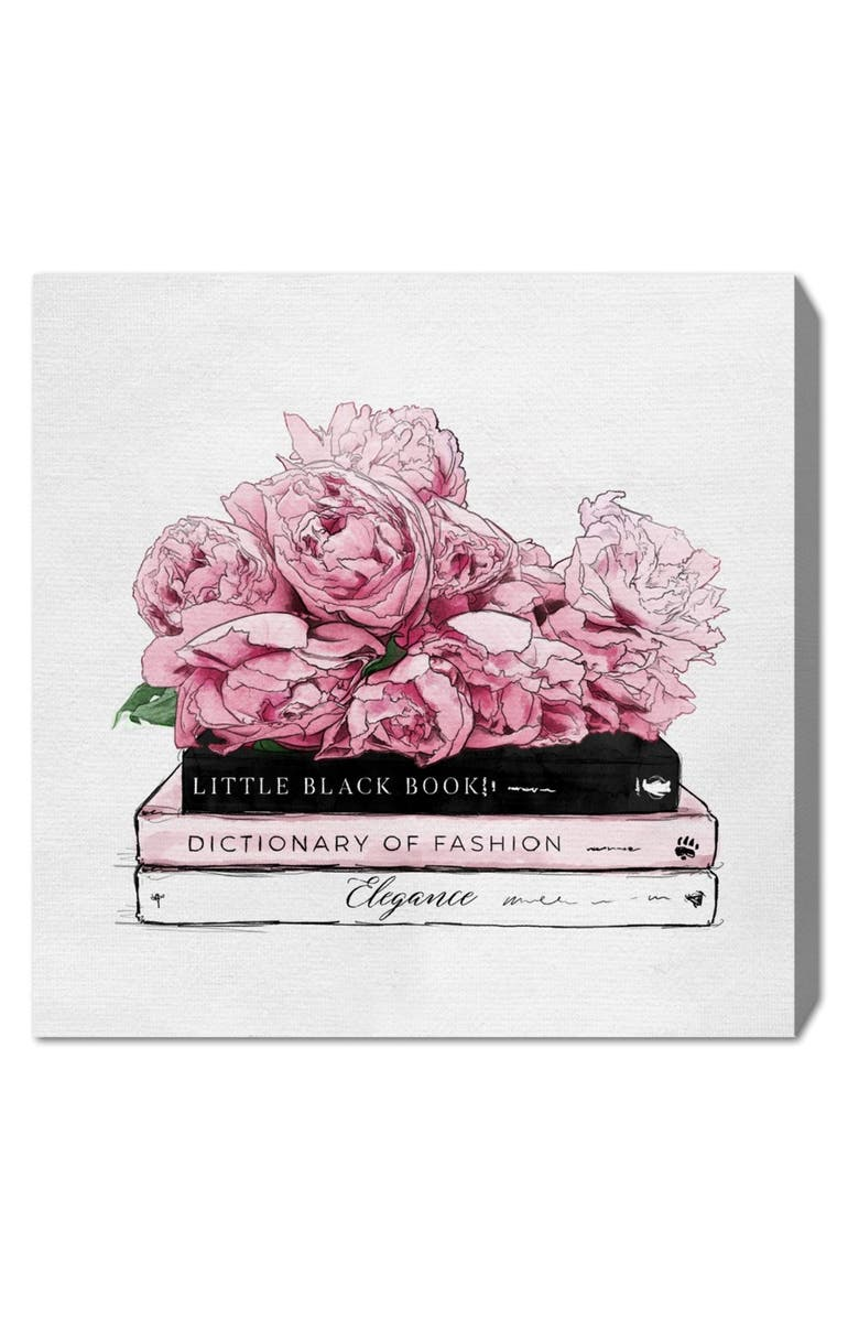 OLIVER GAL Roses & Elegance Canvas Wall Art, Main, color, 100