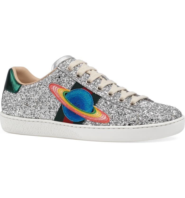 GUCCI New Ace Low Top Sneaker, Main, color, 041