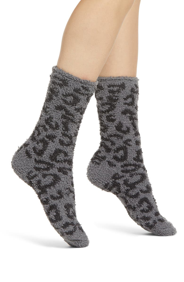 BAREFOOT DREAMS<SUP>®</SUP> CozyChic<sup>™</sup> Barefoot in the Wild Socks, Main, color, 020