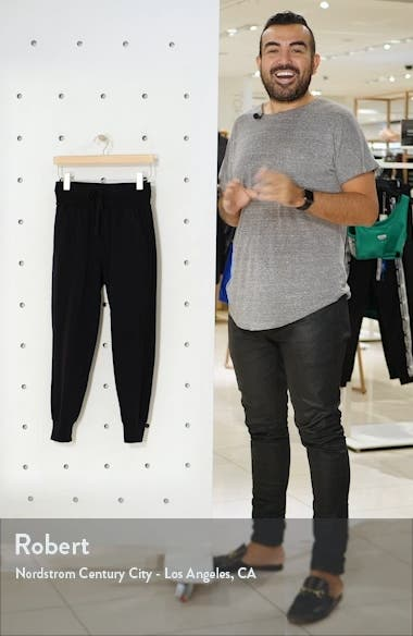 Washed Organic Cotton Ankle Joggers, sales video thumbnail