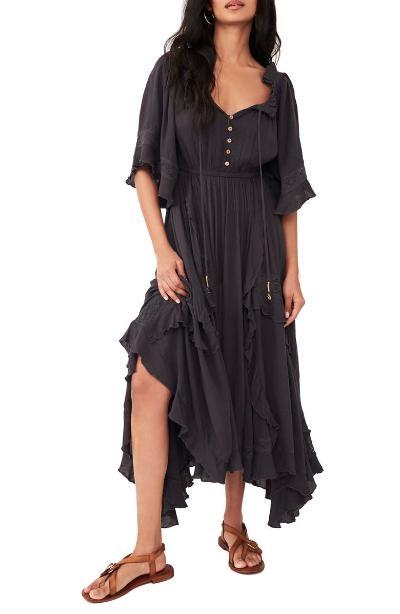FREE PEOPLE Beach Bliss Maxi Dress, Main, color, 030