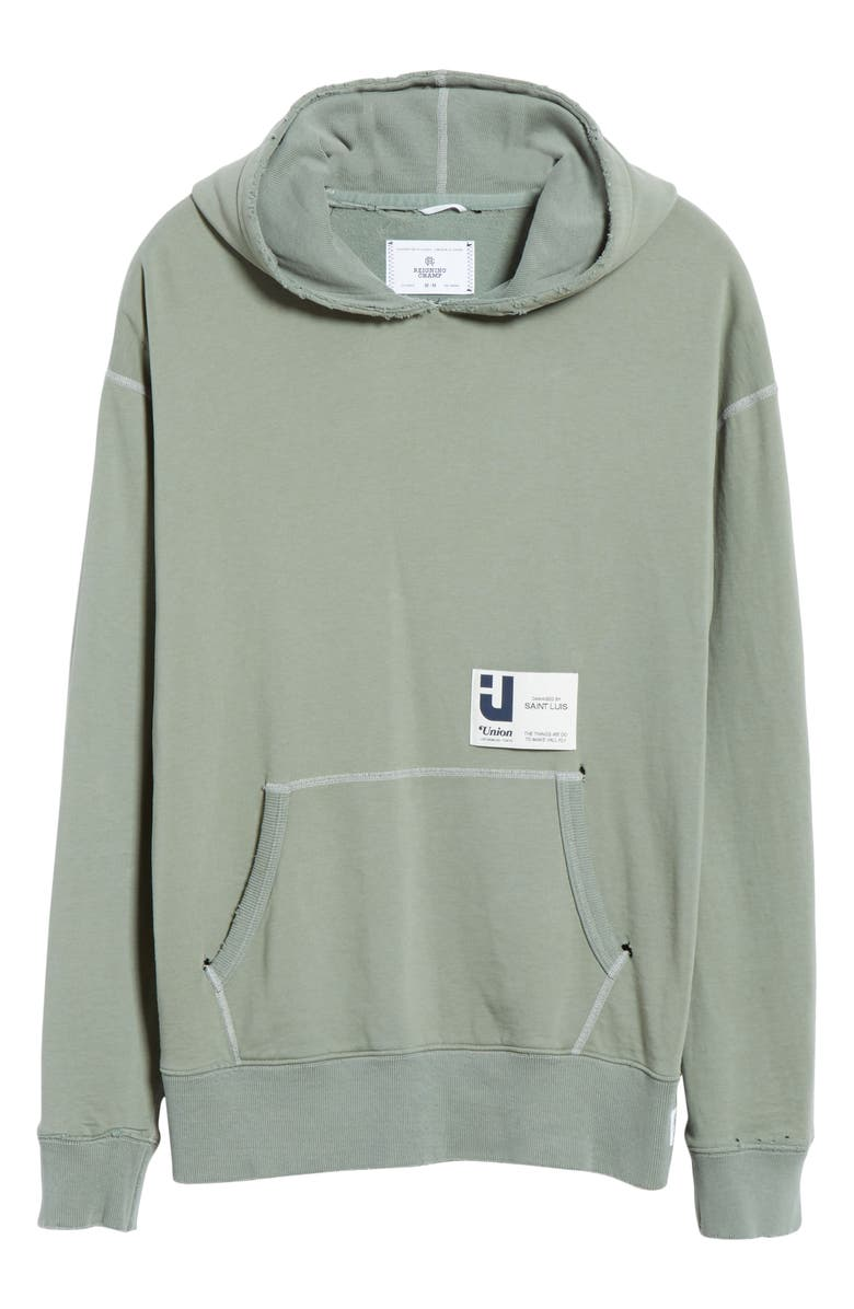 REIGNING CHAMP Relaxed Hooded Sweatshirt, Main, color, 312