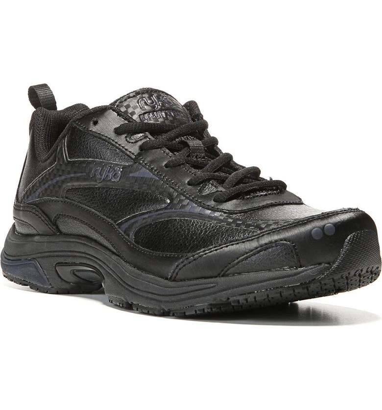 RYKA Intent XT 2 Sneaker - Wide Width Available, Main, color, BLACK/SILVER