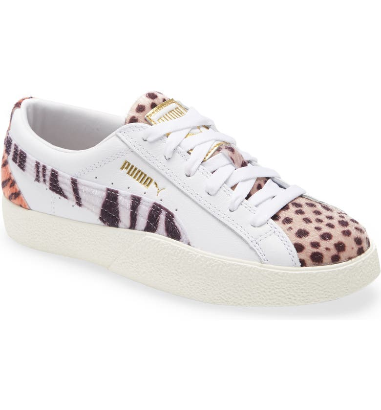 PUMA Love Wildcats Sneaker, Main, color, PUMA WHITE/ PALE KHAKI