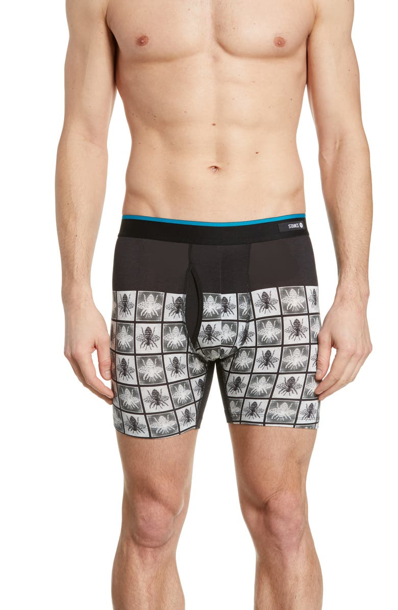 STANCE Hive Checks Boxer Briefs, Main, color, 001