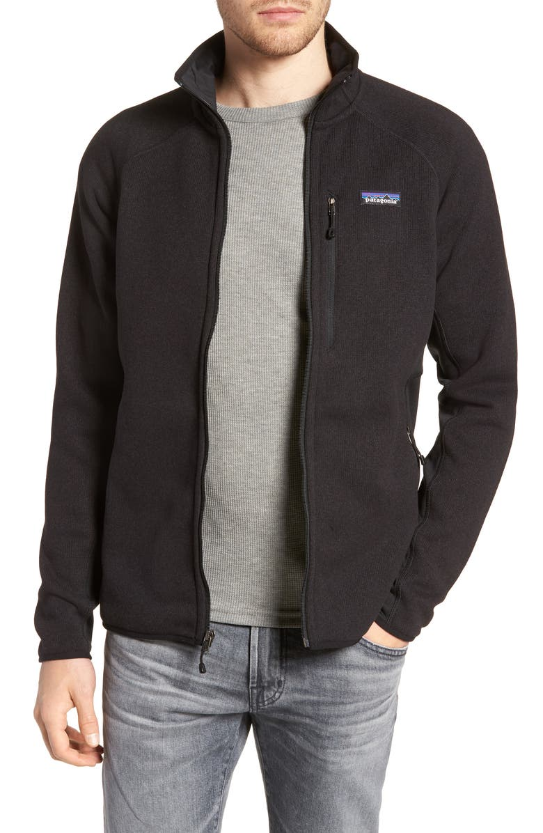 PATAGONIA Better Sweater<sup>®</sup> Performance Slim Fit Zip Jacket, Main, color, 017