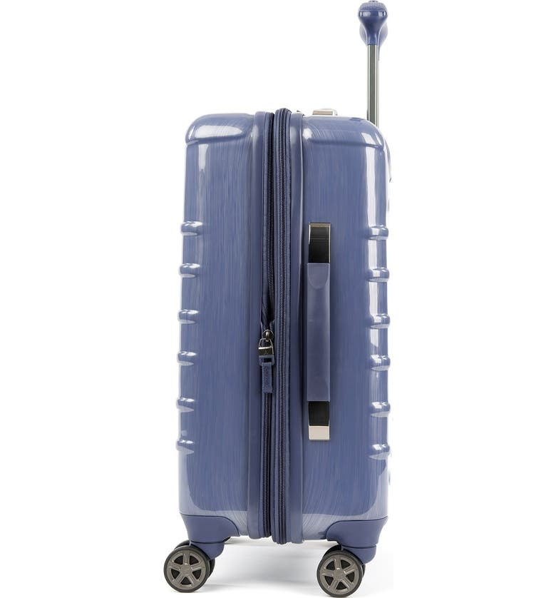 """TRAVELPRO Rollmaster<sup>™</sup> Lite 20"""" Expandable Carry-on Hardside Spinner Luggage, Main, color, STEEL BLUE"""