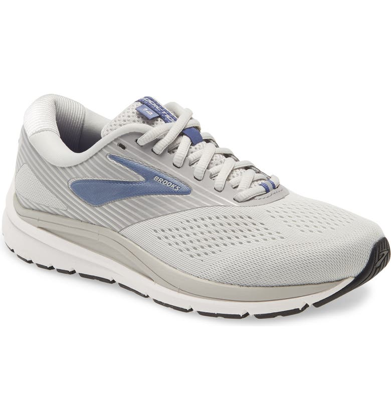 BROOKS Addiction 14 Running Shoe, Main, color, OYSTER/ ALLOY/ MARLIN
