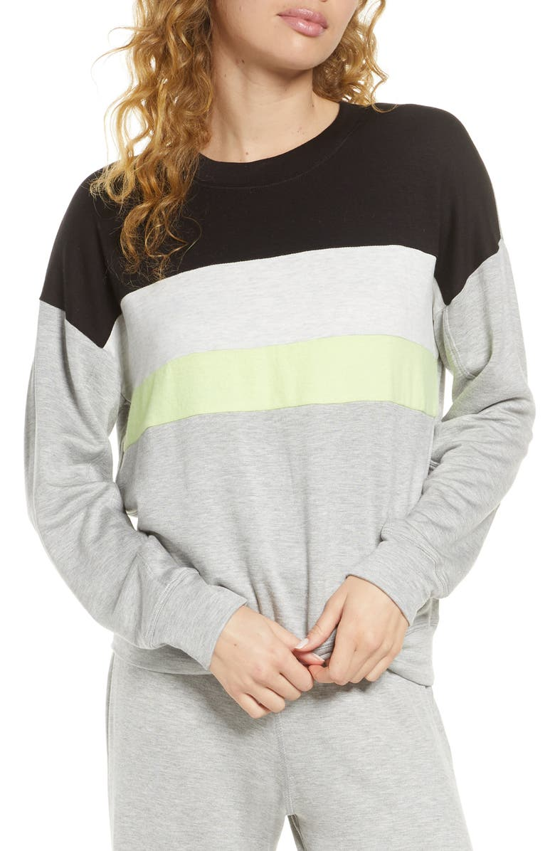SOCIALITE Brushed Pullover, Main, color, 020