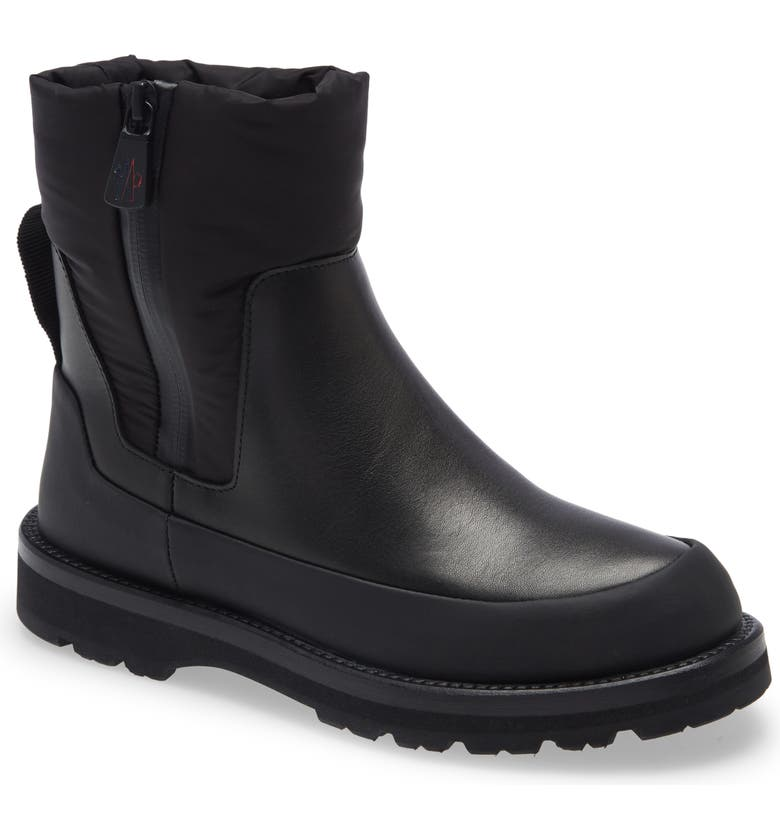 MONCLER Rain Don't Care Waterproof Rain Boot, Main, color, Black